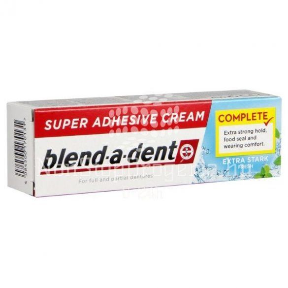 Blend-A-Dent műfogsorrögzítő 47 g FRISCH