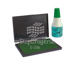 Bélyegzőfesték 25ml gyorsan száradó N191 zöld
