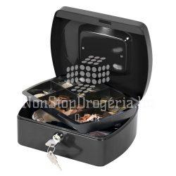 Pénzkazetta 20x16x9cm Q-Connect / Wedo 145.2 fekete