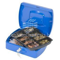 Pénzkazetta 25x18x9cm Q-Connect / Wedo 145.3 kék