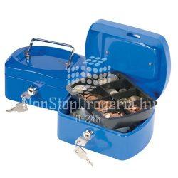 Pénzkazetta 32,5x24x9cm Q-Connect / Wedo 145.4 kék