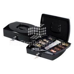 Pénzkazetta 32,5x24x9cm Q-Connect / Wedo 145.4 fekete