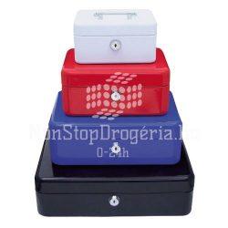Pénzkazetta 32,5x24x9cm Q-Connect / Wedo 145.4 piros