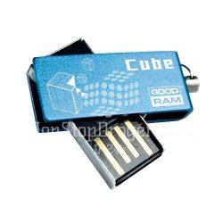 """USB drive GOODRAM """"Cube"""" USB 2.0 64GB kék"""