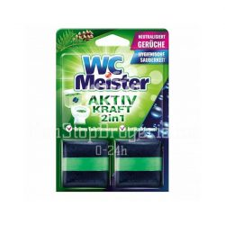 Wc Meister wc tartálytabletta twinpack 2x50 g - erdő