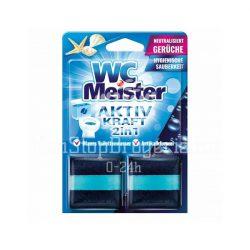 Wc Meister wc tartálytabletta twinpack 2x50 g - oceán
