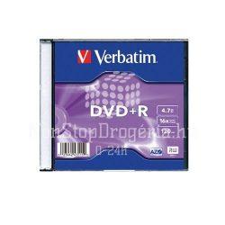 DVD-R Verbatim 4,7GB 16x vékony tokban 43547