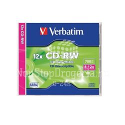 CD-RW Verbatim 700MB 8x-12x 43148