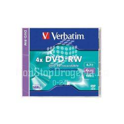 DVD-RW Verbatim 4,7GB 4x 43285