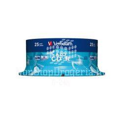 CD-R Verbatim 700MB 52x 25db/henger 43352