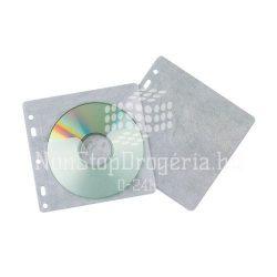CD tartó tasak lefűzhető 40db/csomag KF02208
