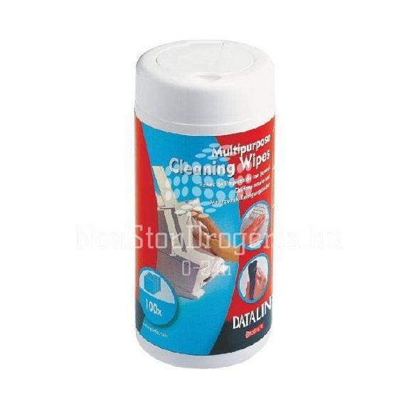 Tisztítókendő nedves flakonos Dataline 67656