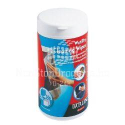 Tisztítókendő nedves/száraz flakonos Dataline 67119