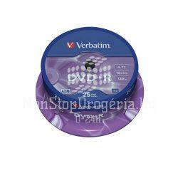 DVD+R Verbatim 4,7GB 16x 25db/henger 43500