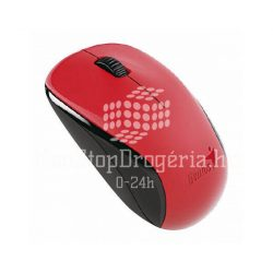 Egér optikai vezeték nélküli Genius Traveler NX-7000 USB piros