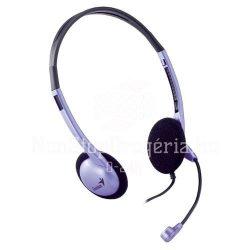 Fejhallgató mikrofonnal Genius HS-02B
