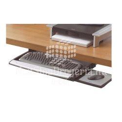 Billentyűzettartó Fellowes Deluxe, kihúzható FLW80312