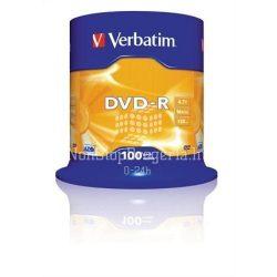 DVD-R Verbatim 4,7GB 16x 100 db/henger