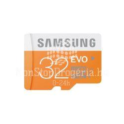 Memóriakártya SAMSUNG EVO 32GB microSD+adapter