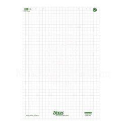 Flipchart papír kockás 68x99cm 80g 20lap/tömb újrahasznosított papírból