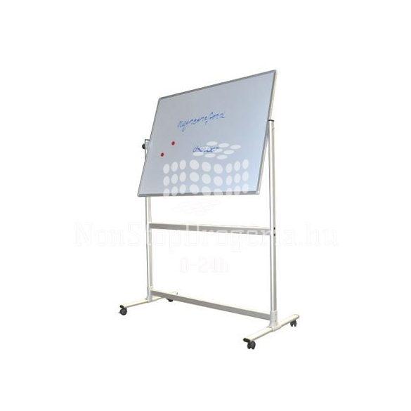 Fehértábla 100x150cm forgatható állvánnyal STC202 lakkozott Franken
