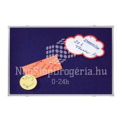Textiltábla 60x90cm PT2302 / EL-PT2 Franken kék
