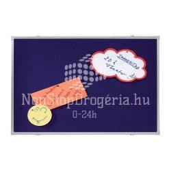 Textiltábla 90x120cm PT2303 / EL-PT3 Franken kék