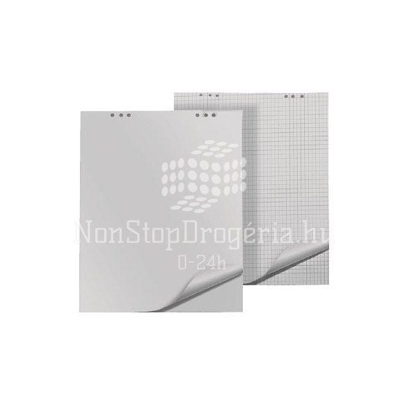 Flipchart papír kockás 68x98cm 80g 20lap/tömb