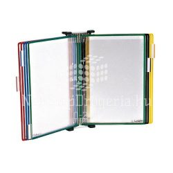 Bemutatótábla tartó fali 10db-os Tarifold TF214000