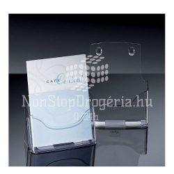 Prospektustartó A/5 1részes asztali Sigel LH112