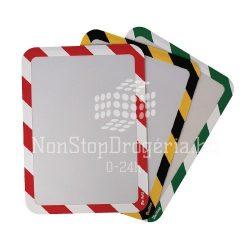 Mágneses tasak A/4 2db/csomag Magneto Safety piros