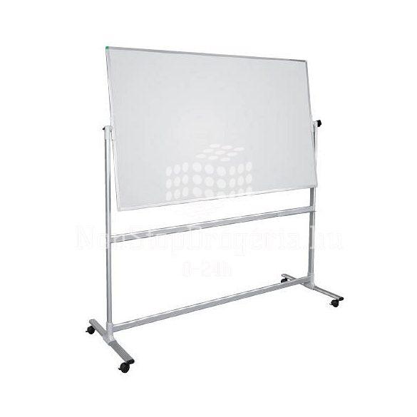 Fehértáblal U-Act! Line 100 x 200 cm forgatható állvánnyal ST903 zománcozott környezetbarát