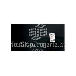 Üvegtábla mágneses 910x460x15 mm fekete