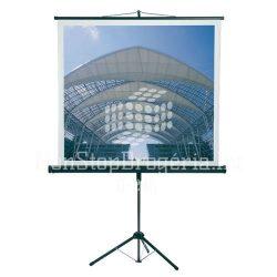 Vetítővászon hordozható állványos 150x150cm XSL15