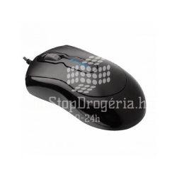 Egér, vezetékes, optikai, normál méret, USB, KENSINGTON Mouse in a Box