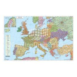 Mágnestábla 140x100 cm Európa autótérképe