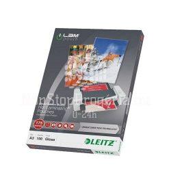 LEITZ Lamináló fólia A/3 meleg UDT STANDARD 100 mikron, 100db/cs 74870000