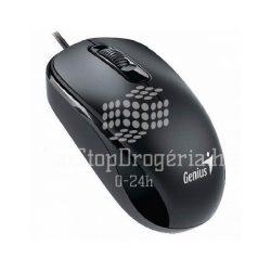 Egér optikai Genius DX-110 vezetékes USB fekete
