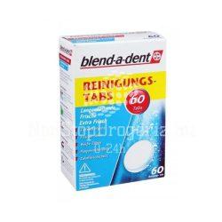 Blend-A-Dent Extra Fresh műfogsortisztító tabletta