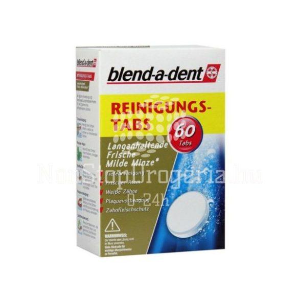 Blend-A-Dent Mild Mint műfogsortisztító tabletta