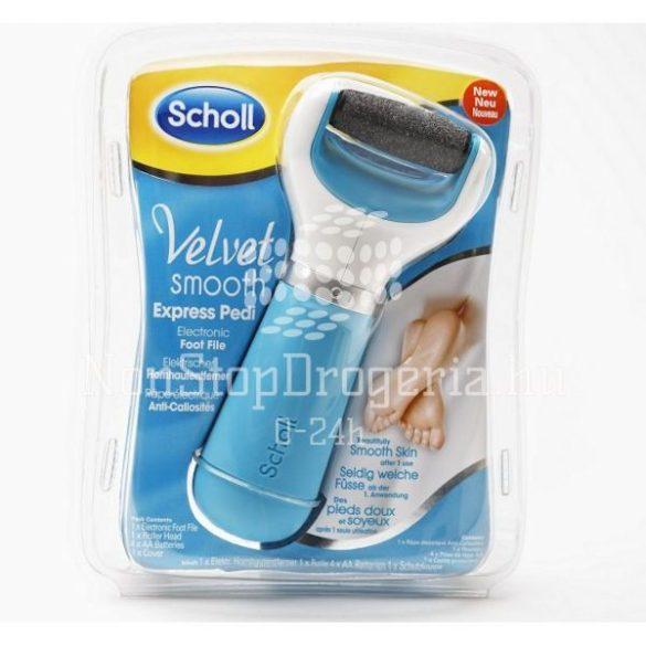 Scholl VELVETSMOOTH Elektromos Lábápoló készülék Diamond (kék)