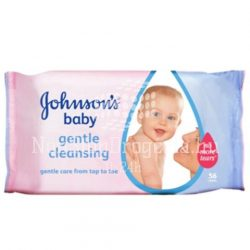 Johnsons Törlőkendő 56 DB-Gentle Cleansing