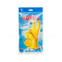 Bonus gumikesztyű 1pár L