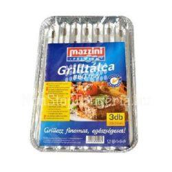 Mazzini grill alutálca 3db