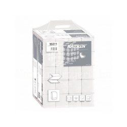 Kéztörlő Z hajtogatott 150lap 2rétegű 22,5x23cm szuper fehér KATRIN PLUS Handypack