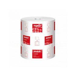 Kéztörlő tekercses 2rétegű fehér átm: 19cm, 160mx210mm, KATRIN CLASSIC System Towel M 2