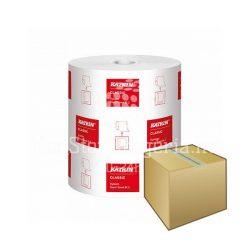 Kéztörlő Katrin Classis System M2 tekercses 19cm/160m 2rétegű fehér újrahasznosított DB-OS KARTON ÁR