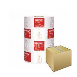 Kéztörlő Katrin Classic S2 tekercses 14cm/60m 2rétegű fehér 100% újrahasznosított 6DB-os KARTON ÁR