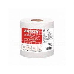 Kéztörlő Katrin Classic M2 2 rétegű fehér 19cm/90m