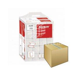 Kéztörlő Katrin Classic Z hajtogatott 200lap 2rétegű recycled fehér 20DB-os KARTON ÁR